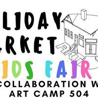 Holiday Market &amp KIDS FAIR Art Klub - SAT DEC 16th