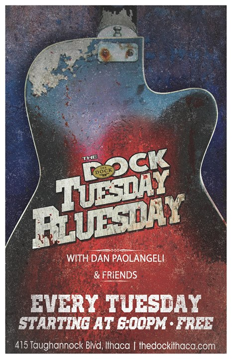 Tuesday Bluesday with Danny P & Friends