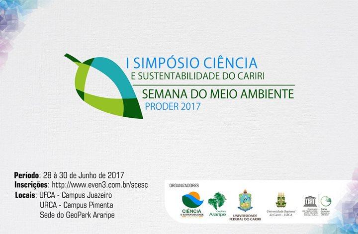 Resultado de imagem para fotos Simpósio de Ciência e Sustentabilidade do Cariri