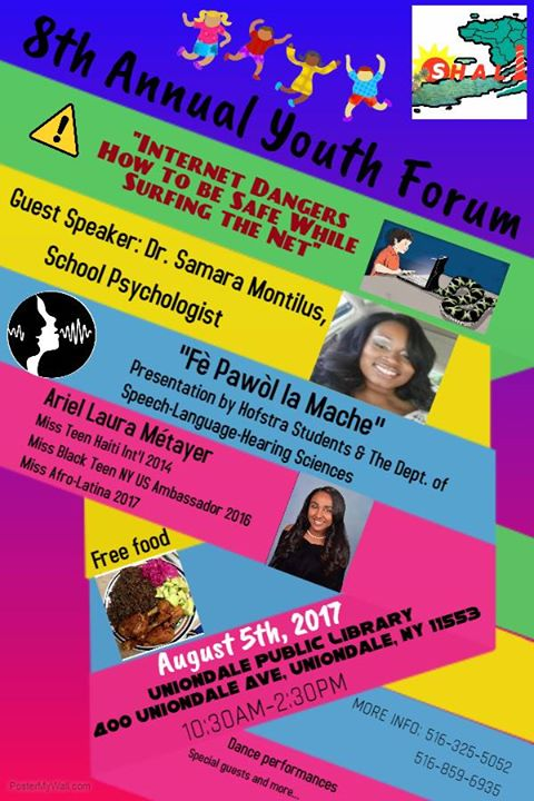 SHALI 8th Annual Youth Forum at Uniondale Public Library