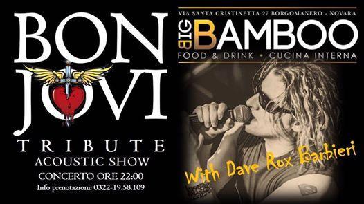 Bon Jovi Tribute  Acoustic Friday