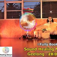 Fully Booked - Sound Healing Meditation - Geelong 2808