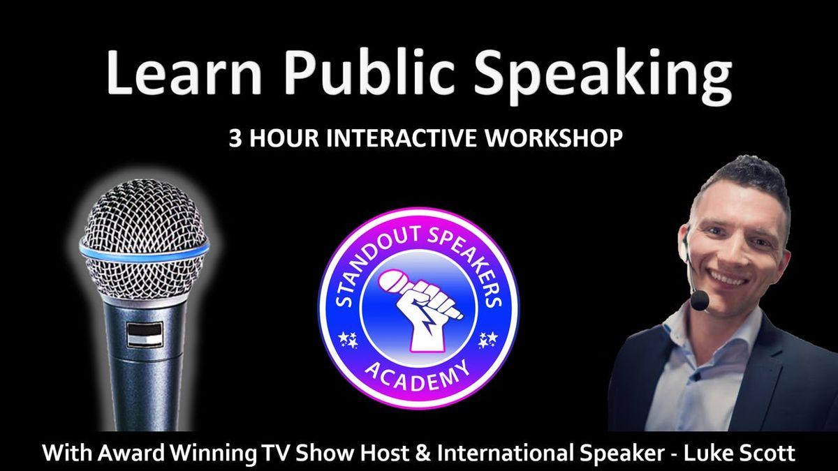 Public Speaking Workshop - StandOut Speakers Academy