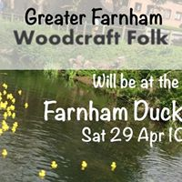 Woodcraft Folk  Farnham Duck Race