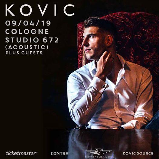 Kovic Live in Cologne  Studio 672  090419