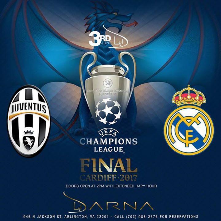 Champions League Final | Real Madrid vs Juventus at Darna ...