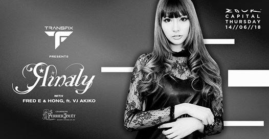 Transfix Presents Rinaly with Fred E & Hong ft. VJ Akiko