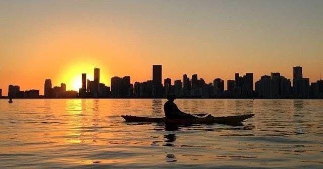 Miami Sunset Kayak & Paddleboard Adventure