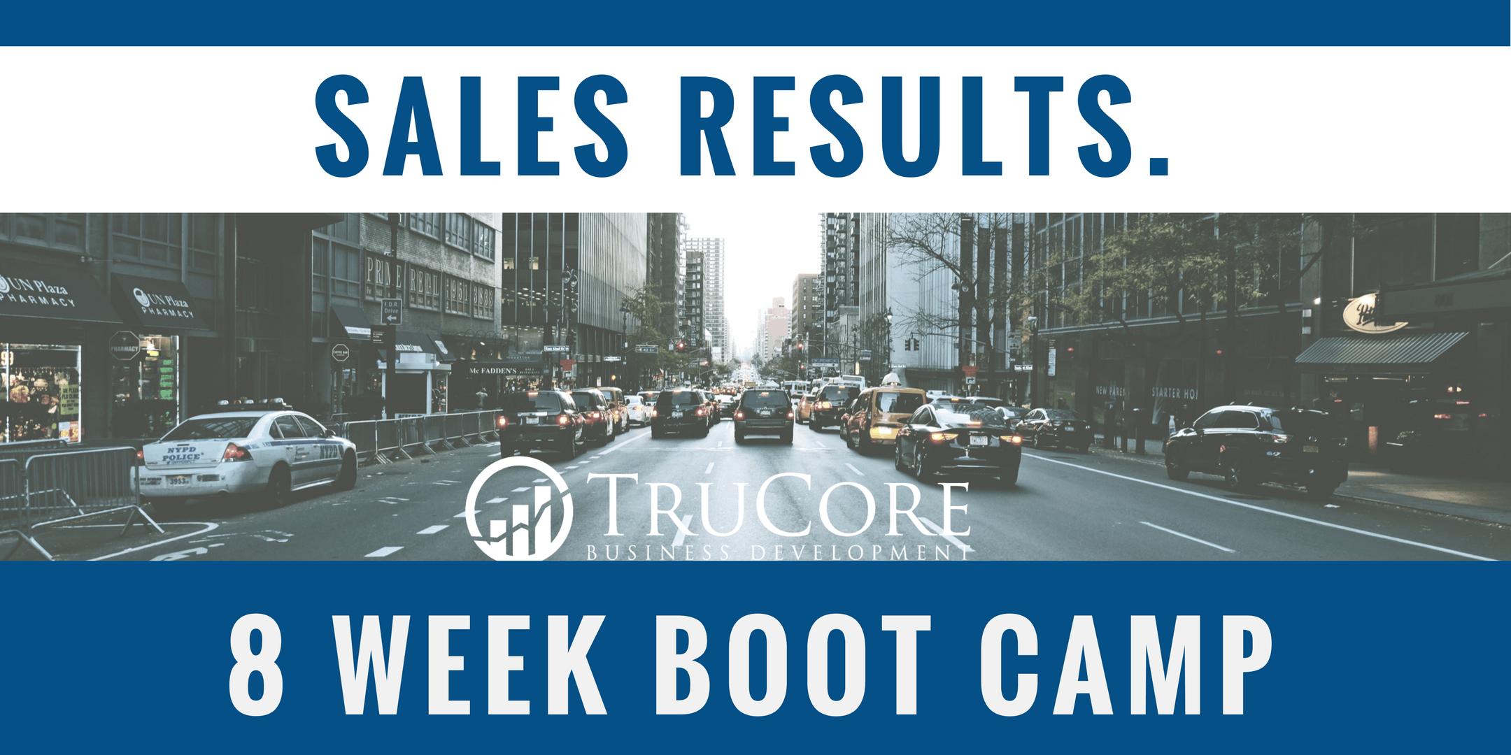 Sales 8 Week Boot Camp