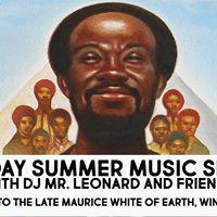 Sunday Summer Music Series with DJ Mr. Leonard and Friends