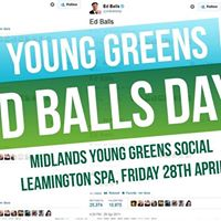 Ed Balls Day Leamington Spa
