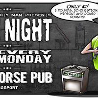 Lil Les Charity Man Quiz Night at The Seahorse Pub