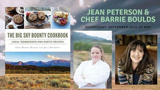 Jean Peterson And Chef Barrie Boulds At Country Bookshelf