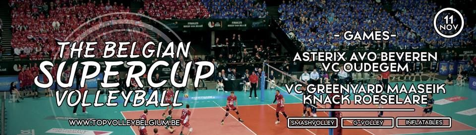 The Belgian Supercup Volleybal