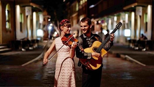 The Mimosa Duo with Gypsy Jazz Project