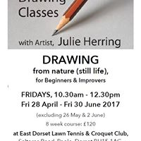 Drawing classes for beginners and improvers