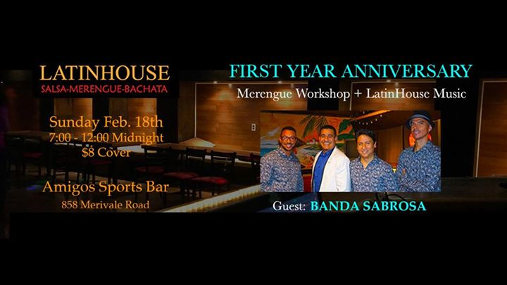 LatinHouse 1st Anniversary Party