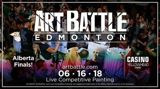 Art Battle Alberta Finals - June 16 2018