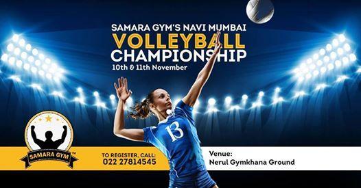 Samara Gym presents Navi Mumbai Volleyball Tournament