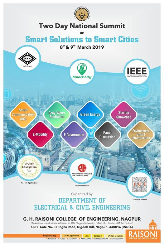 National Summit on Smart Solutions to Smart Cities at