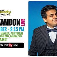 Amit Tandon Live - Rajkot