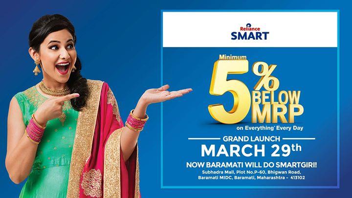 Reliance SMART - Baramati Store Launch
