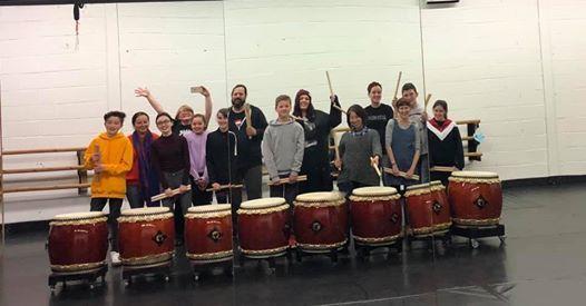 Adult Beginners Taiko Drumming Class