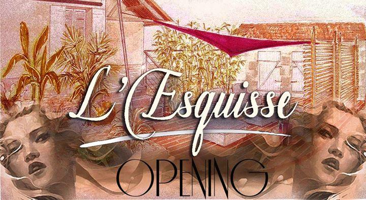 Esquisse Opening Terrasse Ephemere