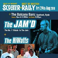 The Jamd  Hiwatts Live IOW Scooter Rally Ryde.