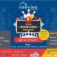 Inovies presents 7h 10 pin bowling event at funcity inorbit mall