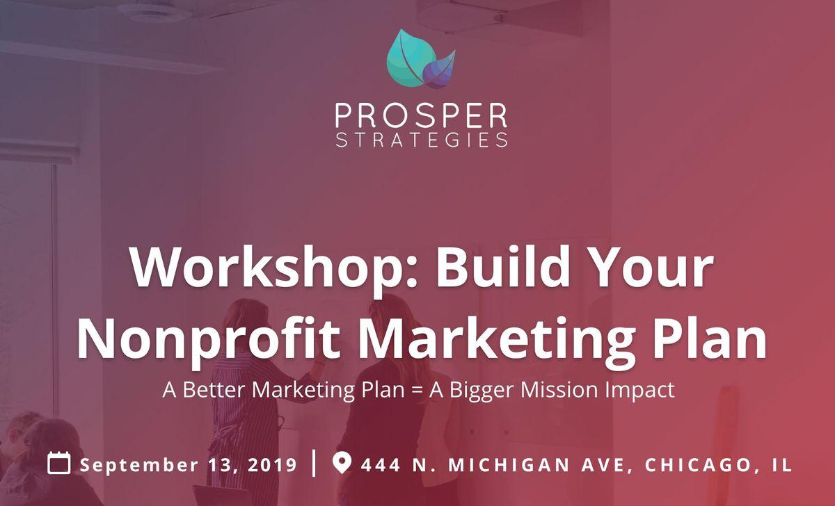 Workshop Build Your Nonprofit Marketing Plan