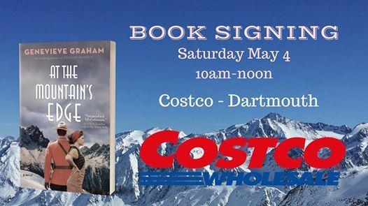 Book Signing at Costco, Dartmouth