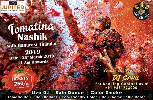 Tomatina Nashik  Holi Event