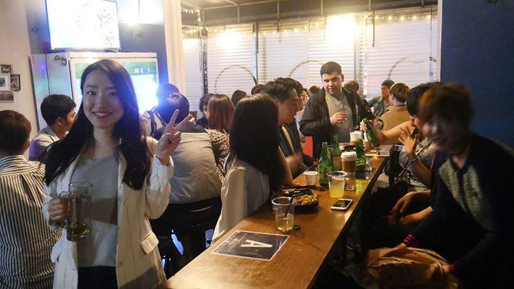 Gangnam International Pub Party Friday