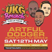UKGBrunch - Bournemouth - With Artful Dodger  Aurie Styla