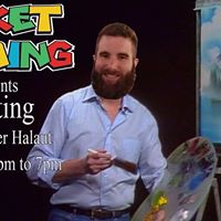 Painting with Spencer Halaut