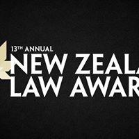 New Zealand Law Awards 2017