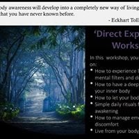 Deeper mindfulness via Direct-Experience.