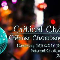Critical Choir - Offener Chorabend 2