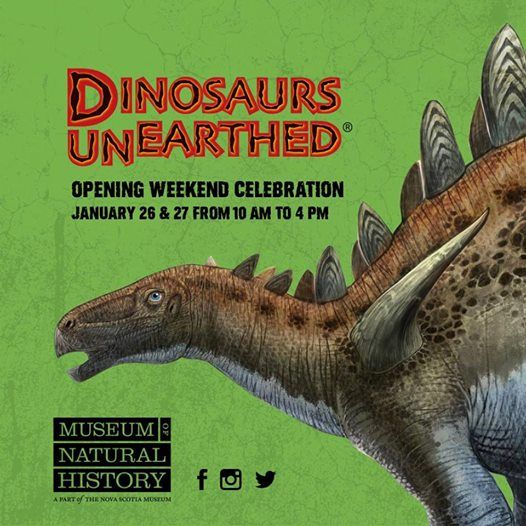 Dinosaurs Unearthed Opening Celebration