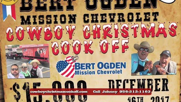 2017 Cowboy Christmas Cookoff