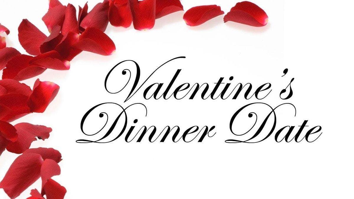 Dinner day Valentines pictures rare photo