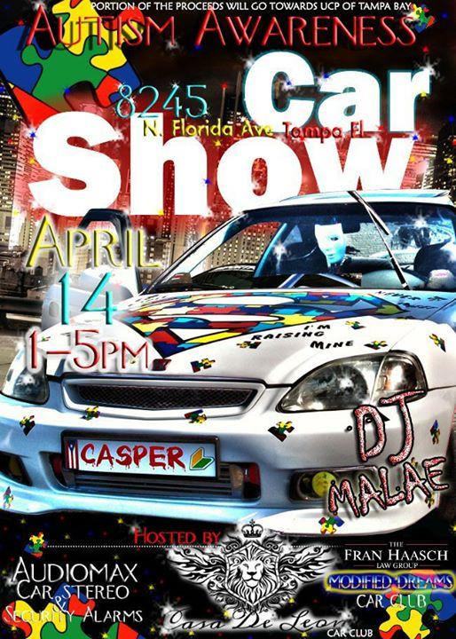 Autism Awareness Car Show At N Florida Avetampa Fl - Tampa car show