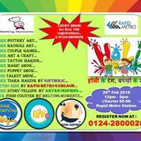 Kids Holi Special Event  Holi Ke Rang Bacho ke Sang