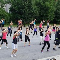 Zumba on the Grounds