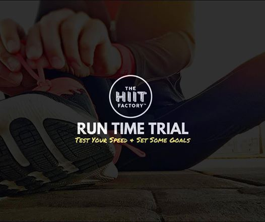FREE 3km or 5km run time trial - test your speed with us