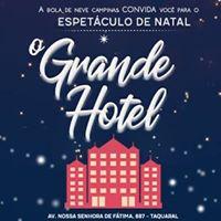 Cantata de Natal  O Grande Hotel