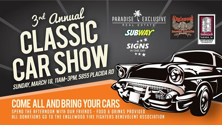 Rd Annual Classic Car Show At Paradise Exclusive Real Estate - Englewood car show