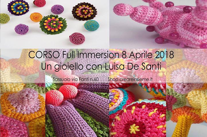 Full Immersion Corso Un Gioiello Con Luisa De Santi At Creare