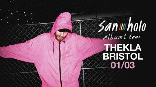 San Holo - album1 tour Bristol 01.03